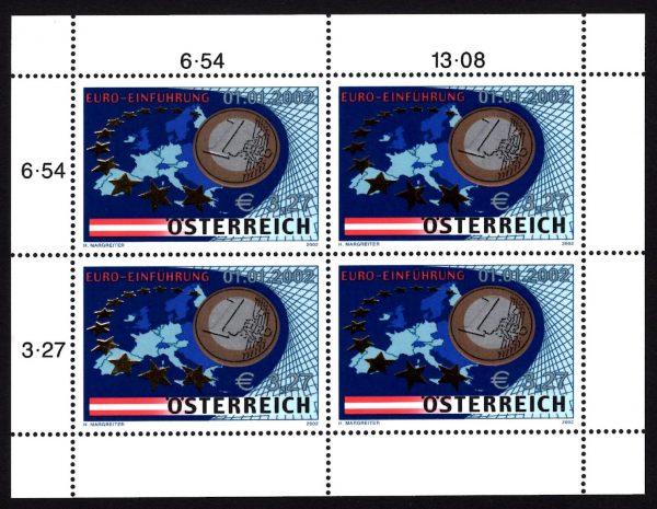 Österr KLBG Euro-Münzen Michel-Nr 2368