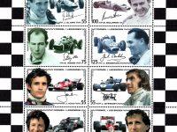 Österr KLBG Formel 1 Rennfahrer Michel-Nr 2592-99