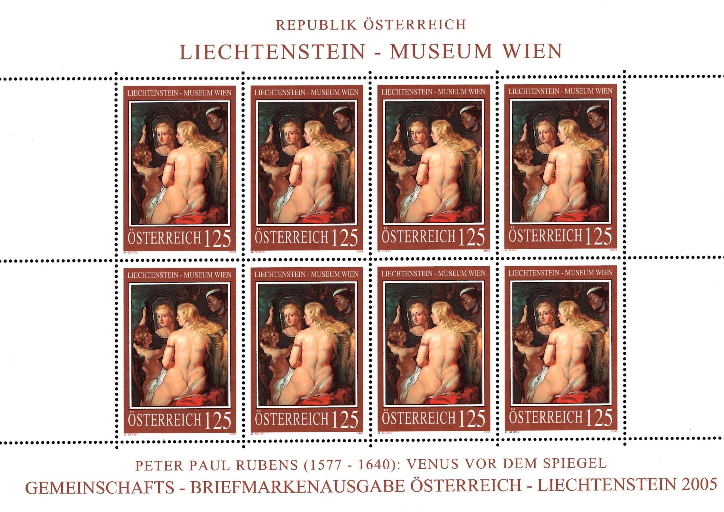 Österr KLBG Gemälde Liechtensteinmuseum Michel-Nr 2641