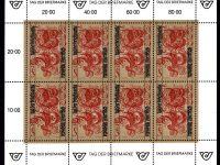 Österr KLBG Tag der Briefmarke 1991 Michel-Nr 2032