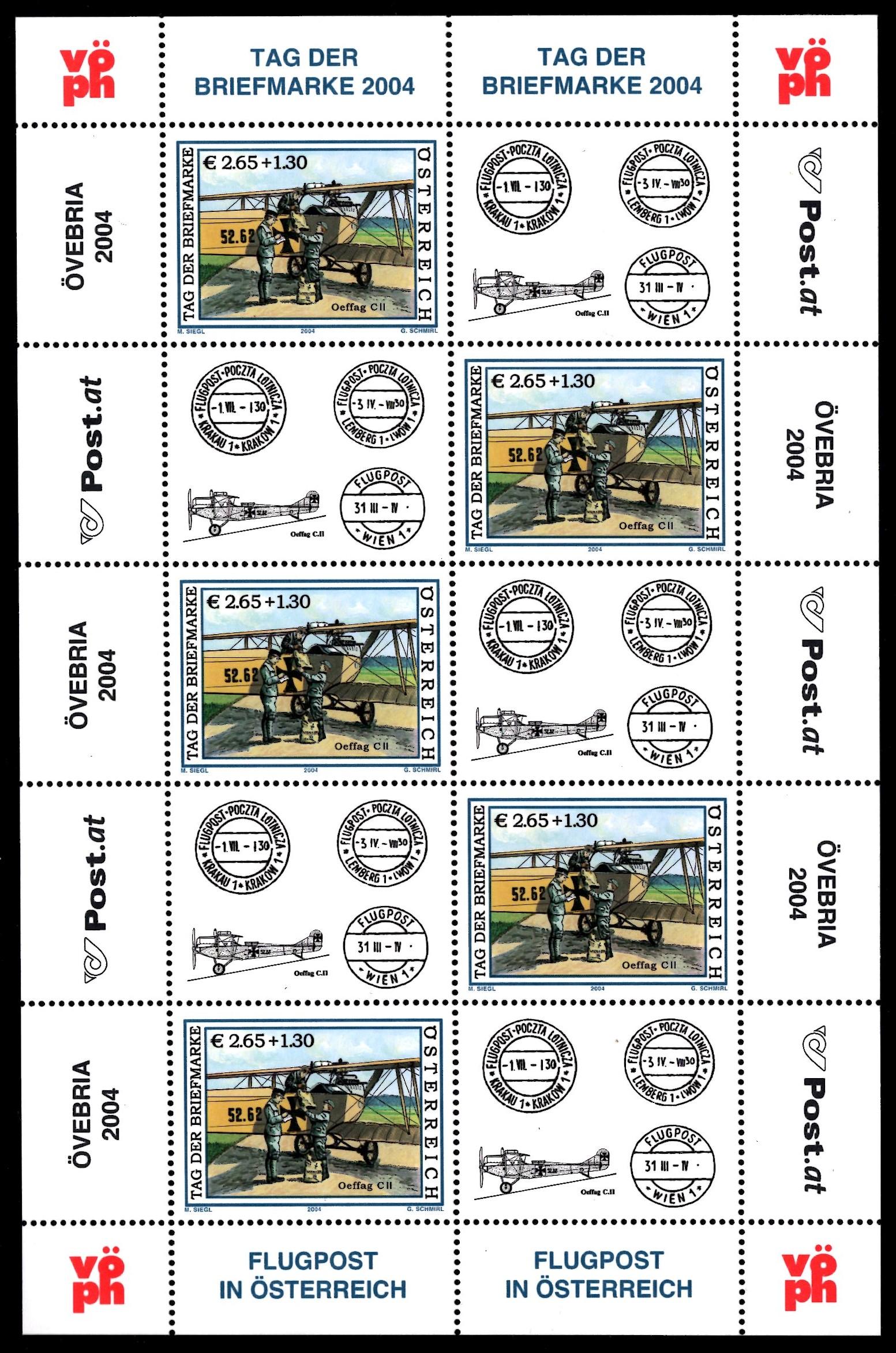 Österr KLBG Tag der Briefmarke 2004 Michel-Nr 2482