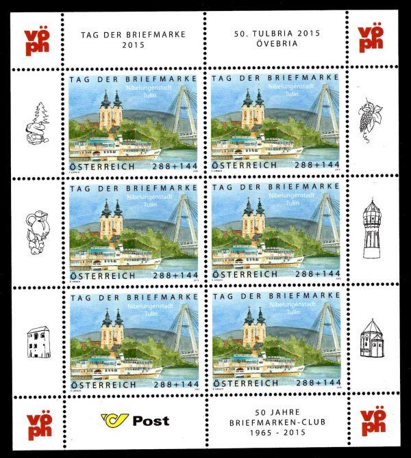 Österr KLBG Tag der Briefmarke 2015 Michel-Nr 3218