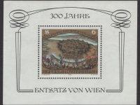 Österreich - Block 006 - postfrisch - 300 Jahrestag des Sieges