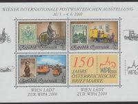 Österreich - Block 014 - postfrisch - WIPA 2000