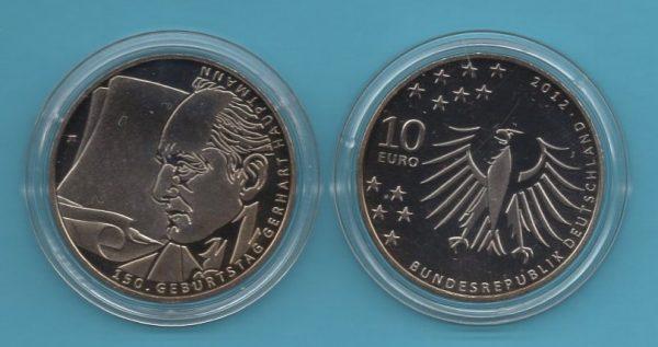 2012-5- 10€ Gerhard Hauptmann in K-N