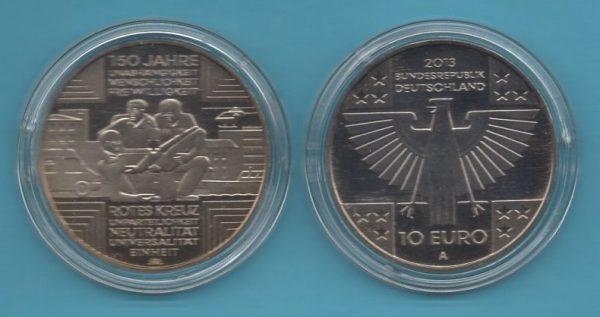 2013-2- 10€ Rotes Kreuz in K-N