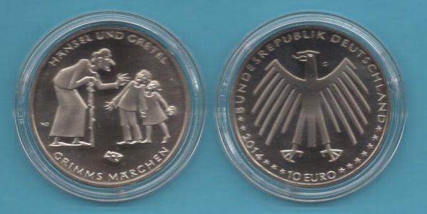 2014-1- 10€ Gebrüder Grimm III in K-N