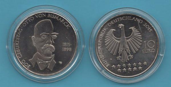 2015-2- 10€ Otto von Bismarck in K-N
