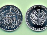 Münzen 25 €