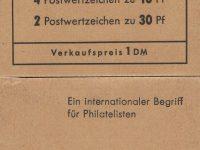 Berlin MH 06a Brandenburger Tor 2. Deckelseite Hawid