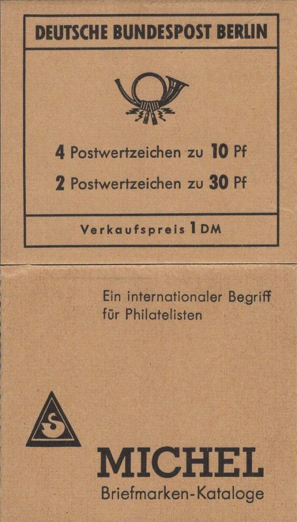 Berlin MH 06b Brandenburger Tor 2. Deckelseite Versandstellen