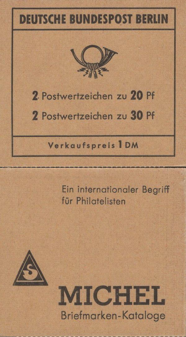 Berlin MH 07b Brandenburger Tor 3. Deckelseite Berliner Zoo 1970