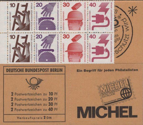 Berlin MH 08a oZ Unfallverhütung 1972