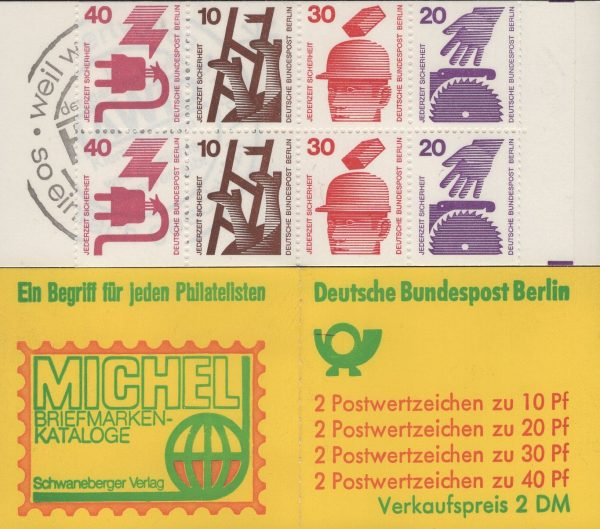Berlin MH 09a oZ Unfallverhütung 1974