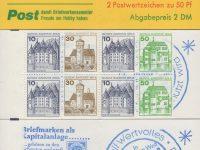 Berlin MH 11a oZ Burgen und Schlösser 1980