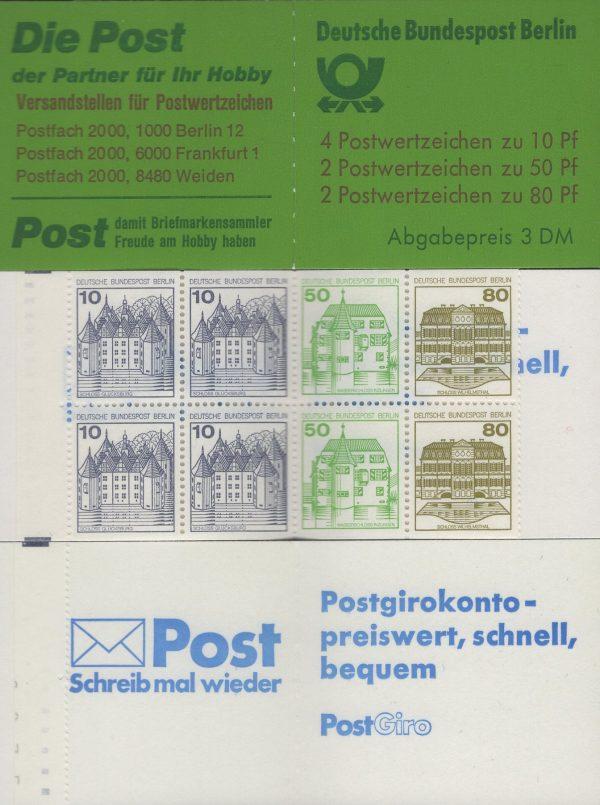 Berlin MH 13 c oZ Burgen und Schlösser