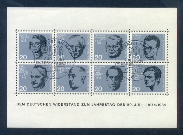 Bund Block 003 Deutscher Wiederstand