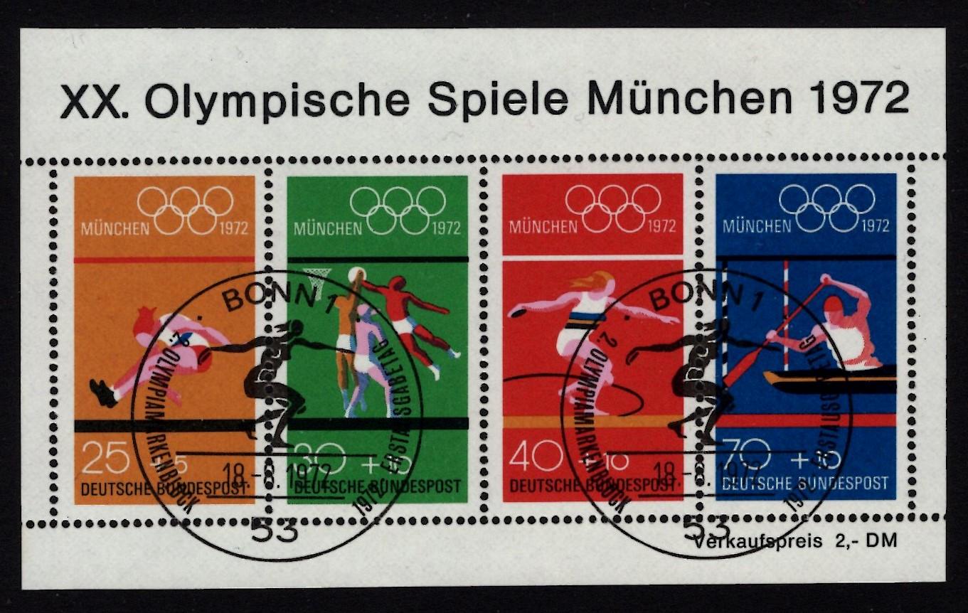 Bund Block 008 Sommerspiele München