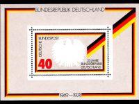 Bund Block 010 25 Jahre Bundesrepublik postfrisch