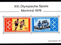 Bund Block 012 Olympia Montreal postfrisch