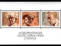 Bund Block 016 Literaturpreisträger postfrisch