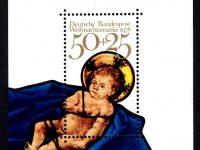 Bund Block 017 Weihnachten 1978 postfrisch