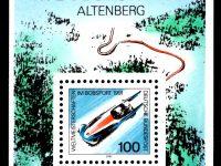 Bund Block 023 Bobsport Altenberg postfrisch