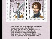 Bund Block 025 Theodor Körner postfrisch