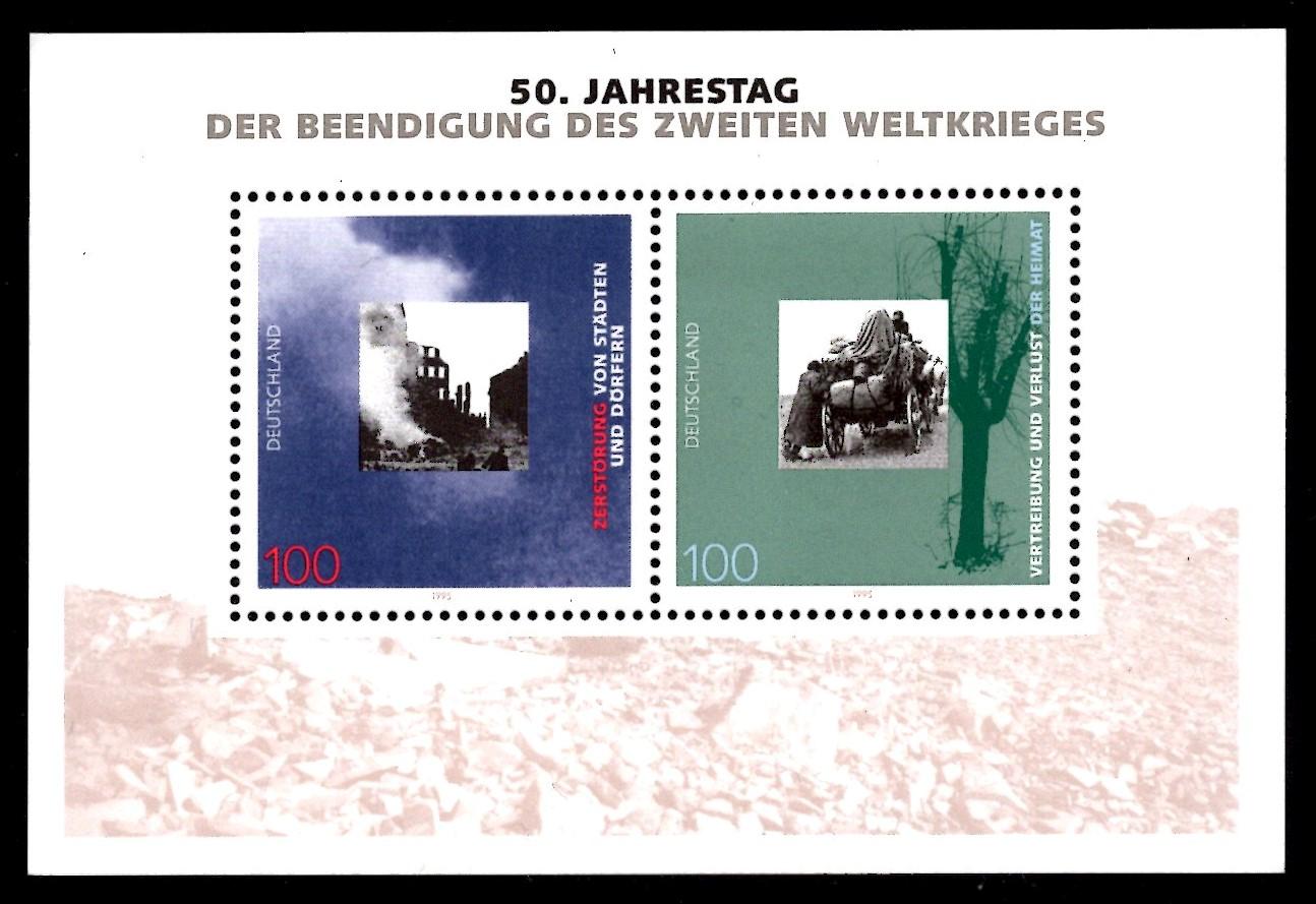 Bund Block 031 Zweiter Weltkrieg postfrisch