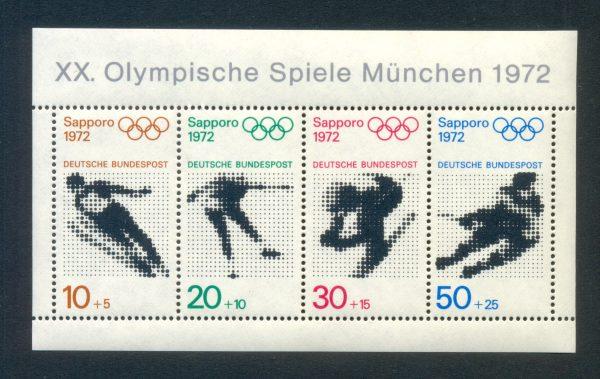 Bund Block 06 Olympia München 1972 postfrisch