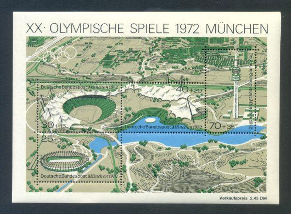 Bund Block 07 Sommerspiele München