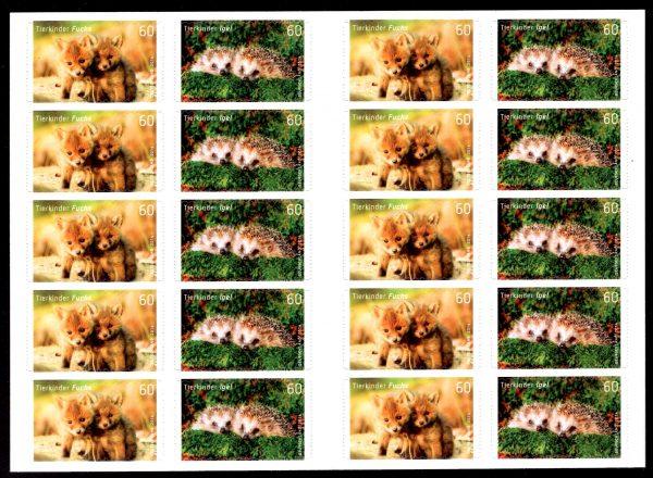 FBL 036 Tierkinder Fuchs-Igel