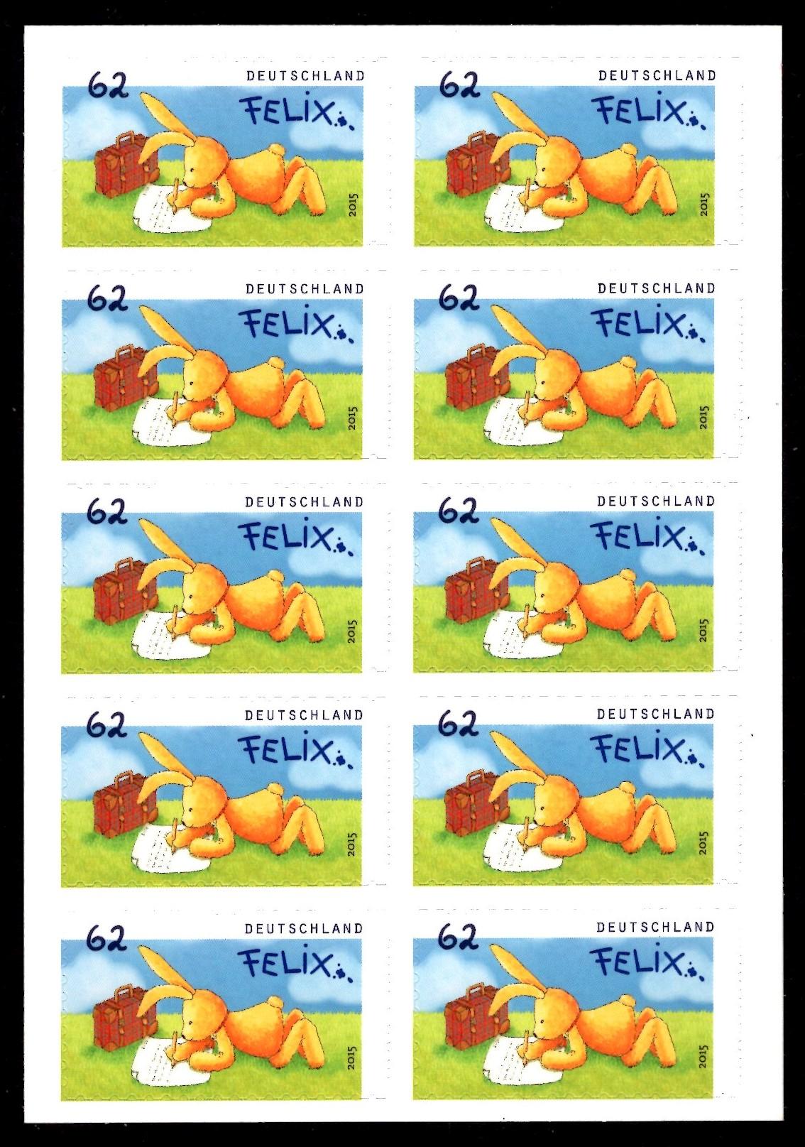 bund  folienblätter  postfrisch  fbl 046  michel 3142