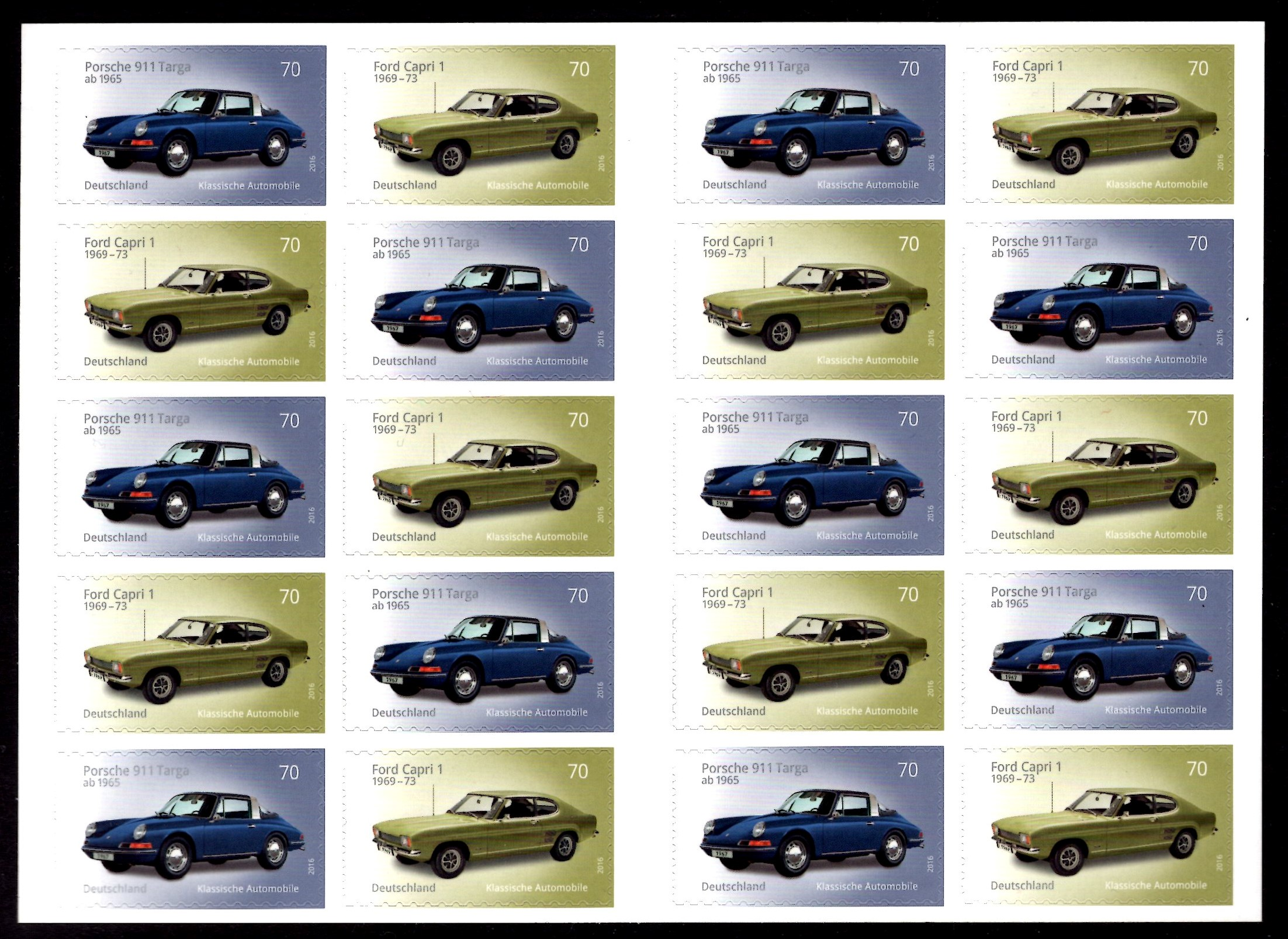 FBL 053 Automobile Ford-Porsche