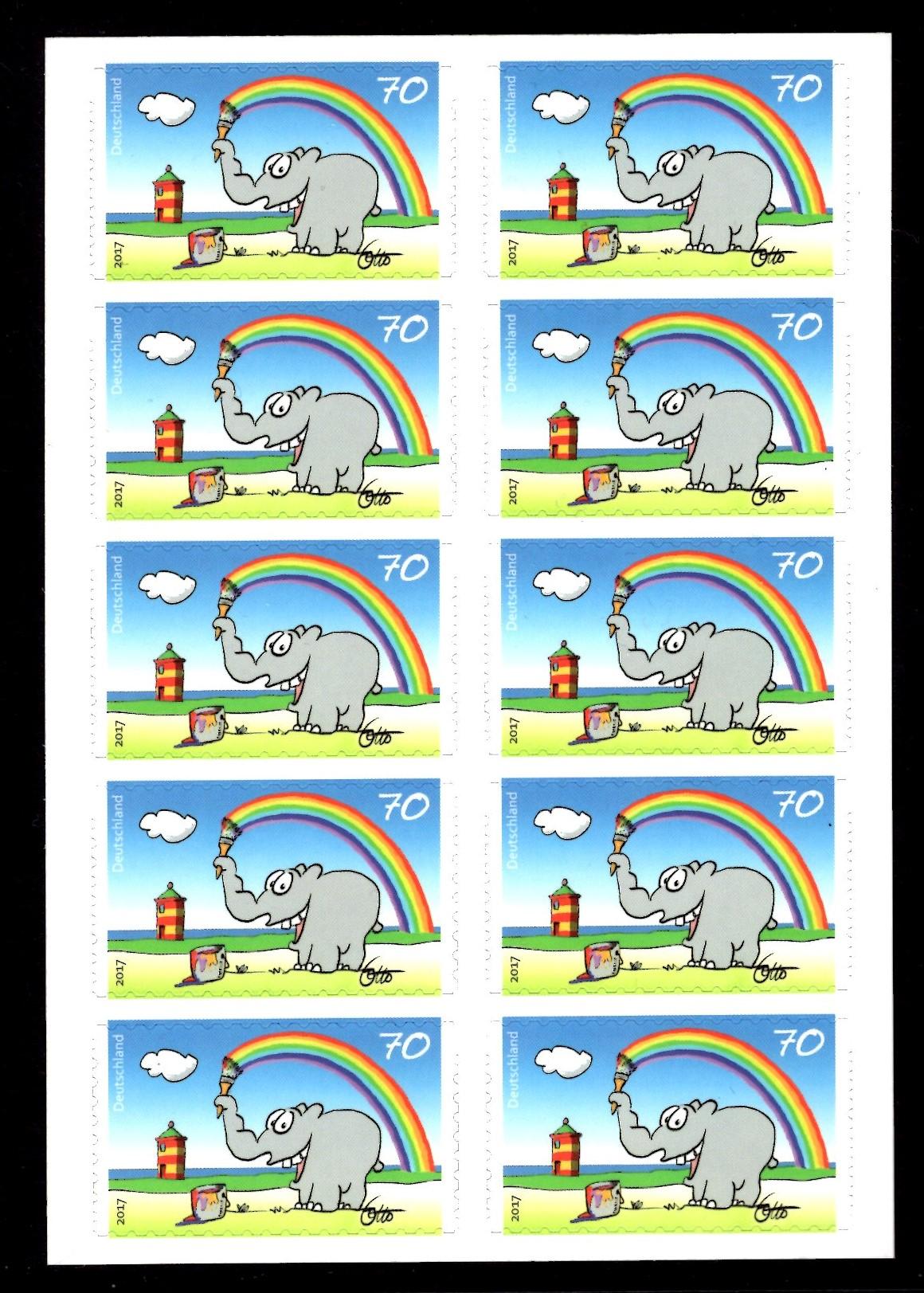 FBL 065 Grußmarken Ottifanten
