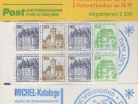 MH 11 c oZ Burgen und Schlösser 1980