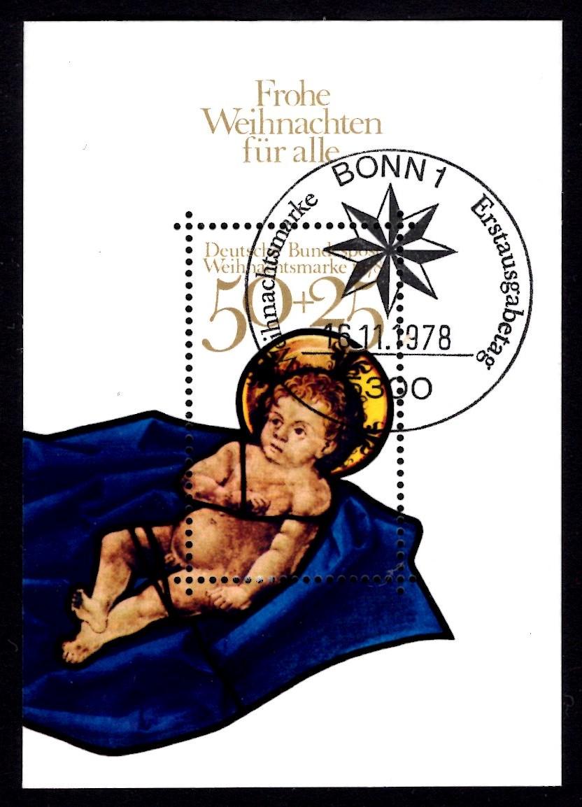 Bund Block 017 Weihnachten 1978