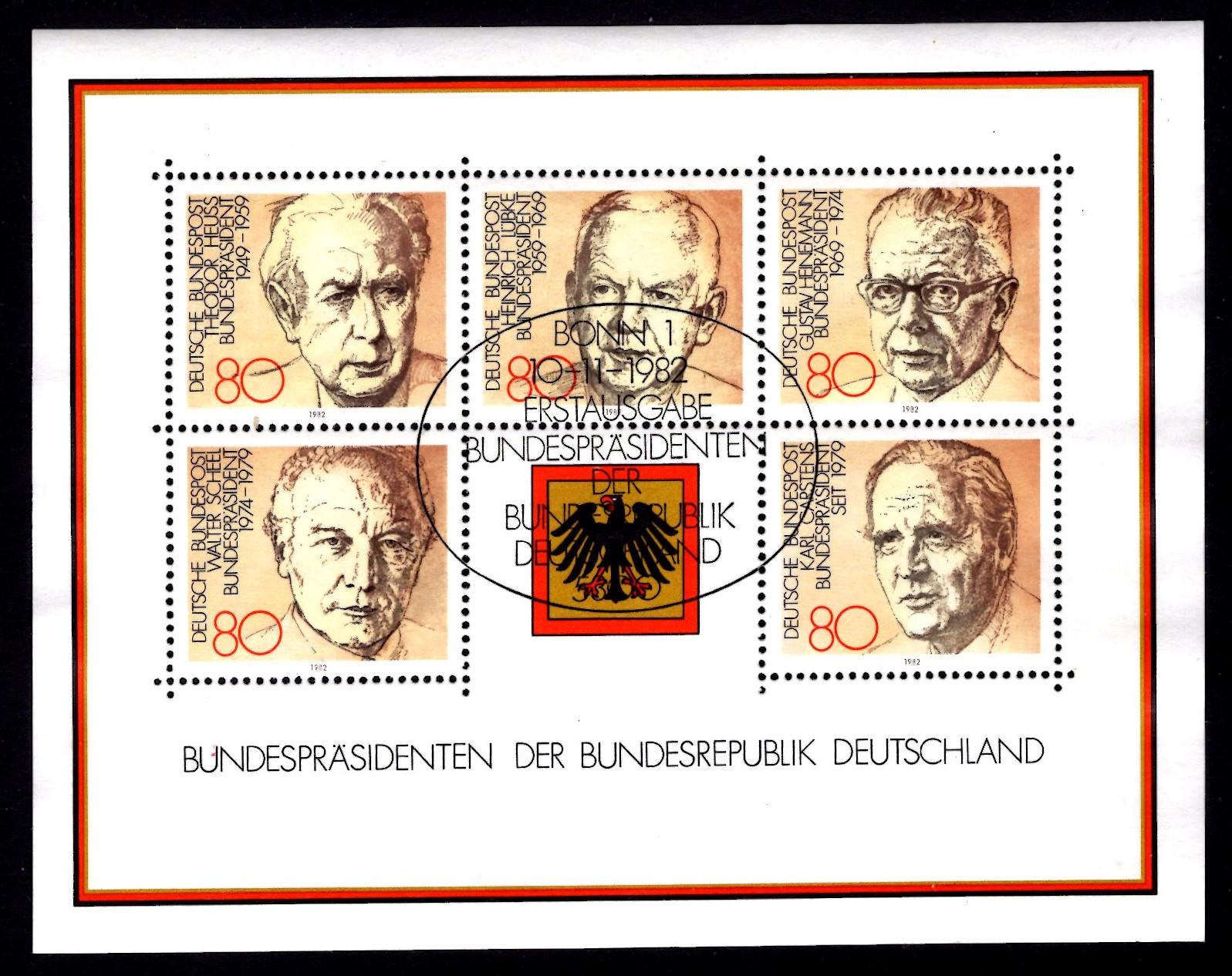 Bund Block 018 Bundespräsidenten