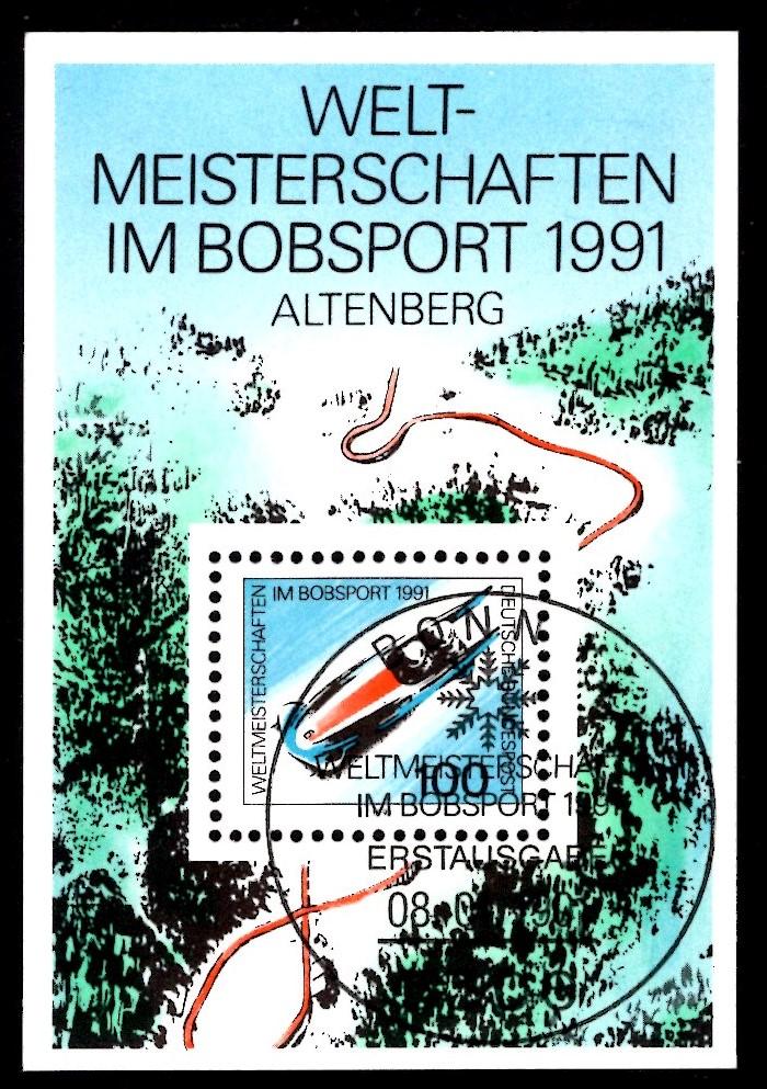 Bund Block 023 Bobsport Altenberg