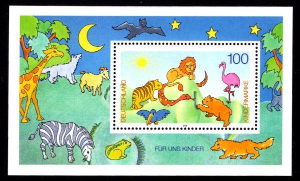 Bund Block 034 Für uns Kinder 1995