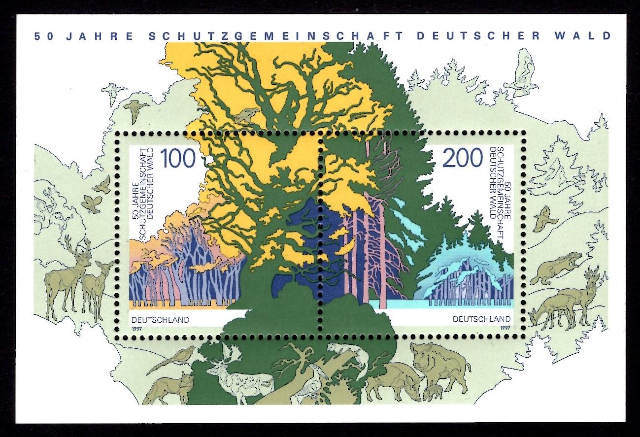 Bund Block 038 Deutscher Wald