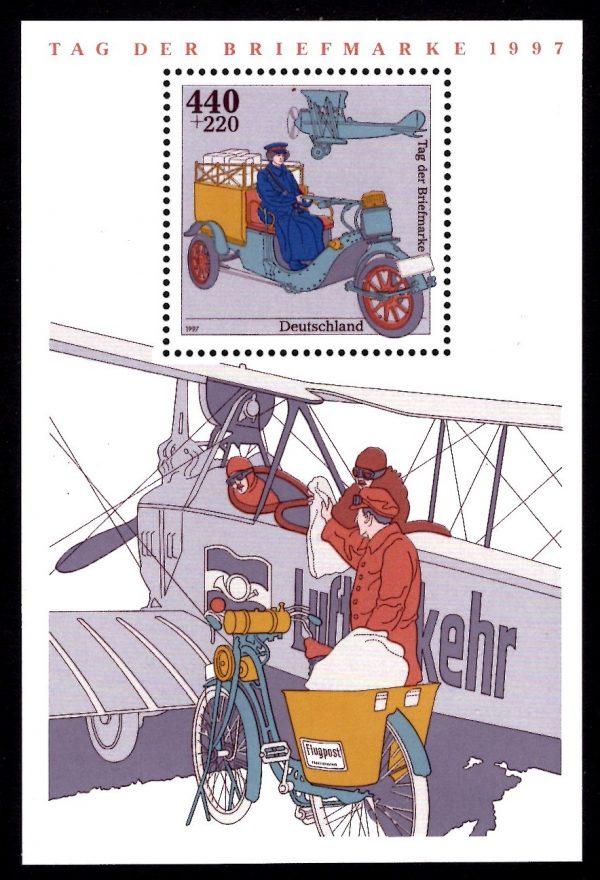 Bund Block 041 Tag der Briefmarke 1997