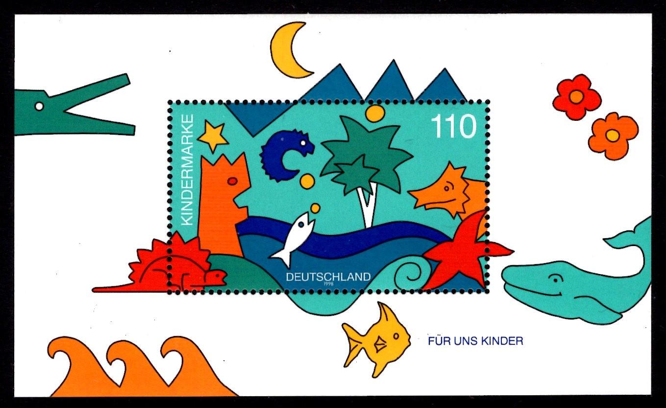 Bund Block 042 Für uns Kinder 1998