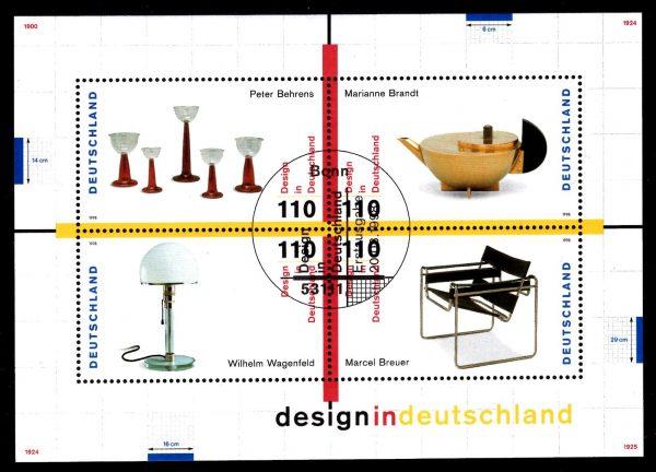 Bund Block 045 Design in Deutschland