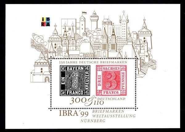 Bund Block 046 IBRA 1999 Nürnberg