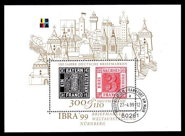 Bund Block 046 Ibra Nürnberg 1999