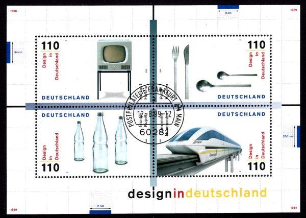 Bund Block 050 Design in Deutschland