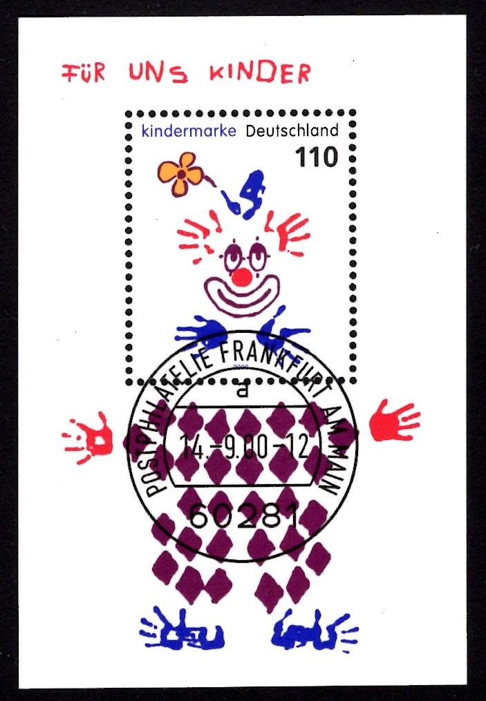 Bund Block 053 Für uns Kinder 2000