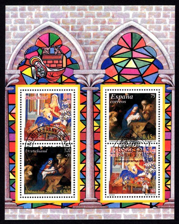 Bund Block 056 Weihnachten 2001