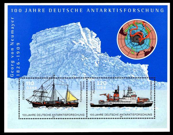Bund Block 057 100 Jahre Antarktisforschung